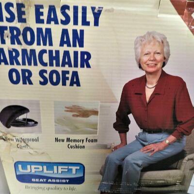 Uplift Seat Assist Cushion