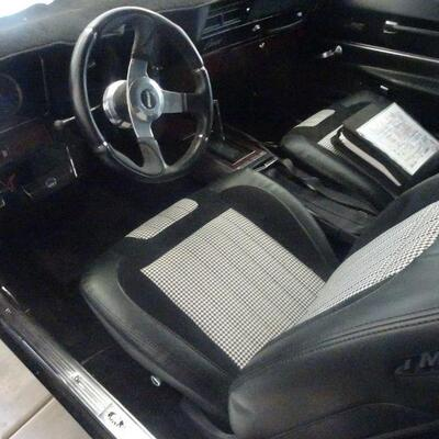 1969 Chevrolet Camaro that is under restoration and is close to completion. (minimum offer $25,000)