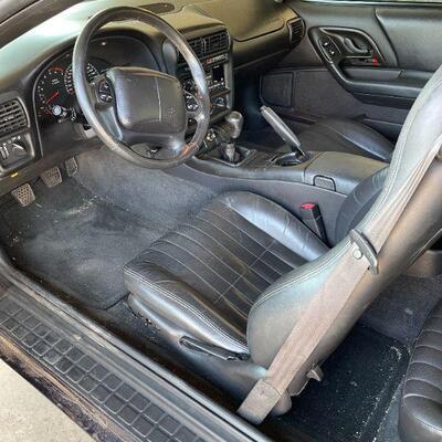 2002 Chevrolet Camaro SS 35th Anniversary Edition, 43000 miles one owner car (minimum $15,000)