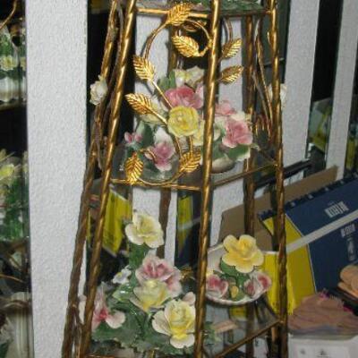 Golden framed shelf   BUY IT NOW $ 88.00