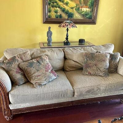 Two(2) full size living room couches