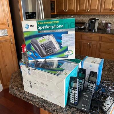 Phones for business and residence use