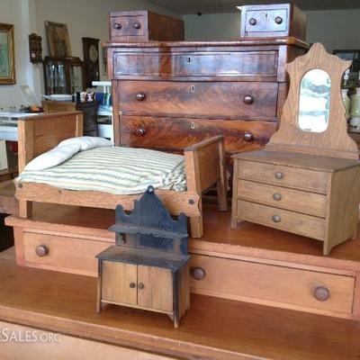 Assortment of Child's Play Furniture