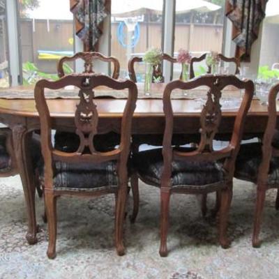 Teak wood dining set