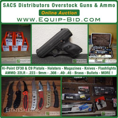 SACS Distributors Overstocked Guns,   | Eudora, KS 66025