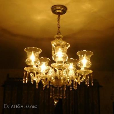 Crystal Glass Chandelier Made in Austria