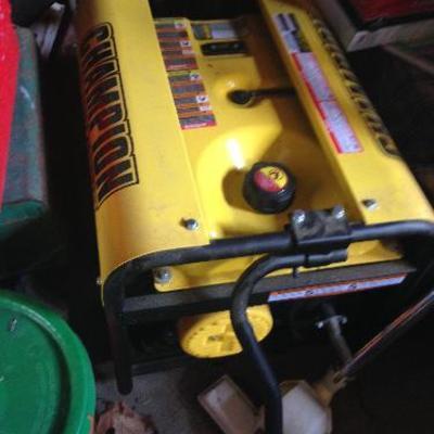 Champion generator, never used